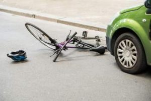 serious bicycle accident