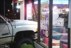 Car crashes into Femont restaurant