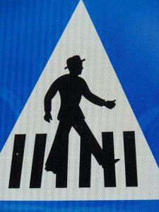 Pedestrian collision in Sacramento County