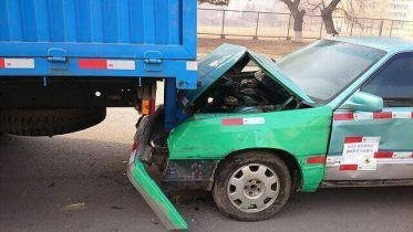 Rear-end collision in Los Angeles County