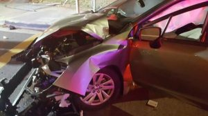 Cajon Pass, CA – Driver Seriously Injured in Head-on Collision