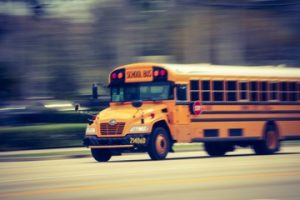 Fresno, CA – School Bus Accident Involving Motor Vehicle