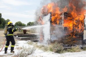 Fontana, CA – Injuries Sustained in Fiery Multi-Vehicle Accident on Interstate 15